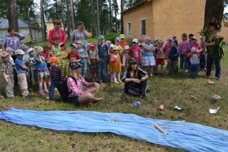 охрана окружающей среды конспект детский сад